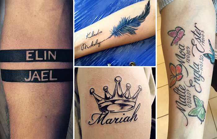 name tattoo designs isim dövme modelleri