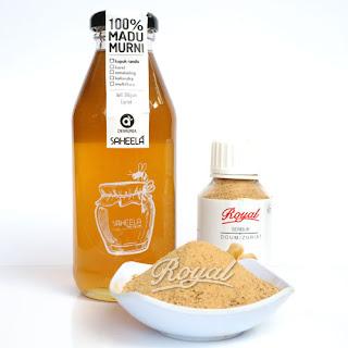 paket promil serbuk buah zuriat dan madu