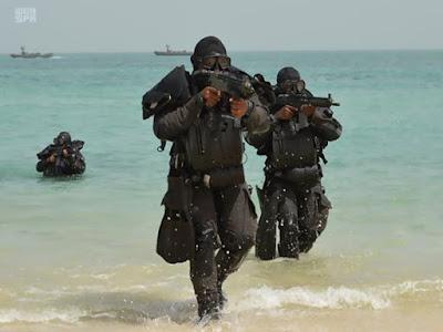 latihan militer pemuda saudi
