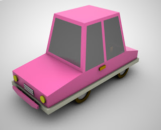 Donwload Low Poly Toy Car Game - 1