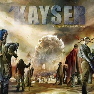"""Το βίντεο των Kayser για το τραγούδι """"Through the Darkness"""" από τον δίσκο """"IV: Beyond the Reef of Sanity"""""""