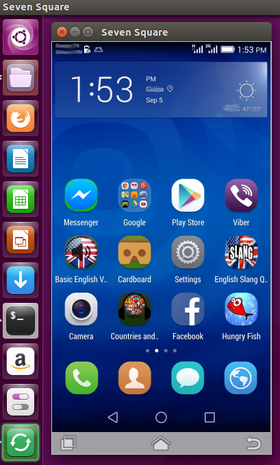 Screencasting/Mirroring an Android Device Screen onto your