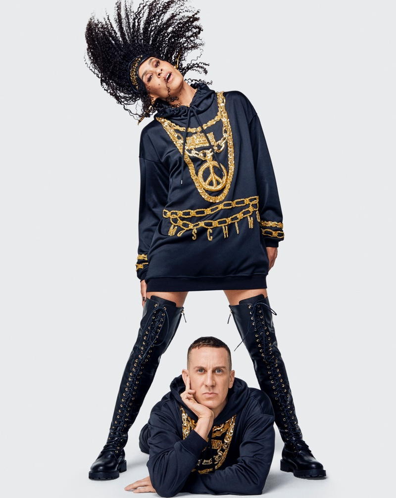 MOSCHINO X H&M COLLECTION LOOKBOOK