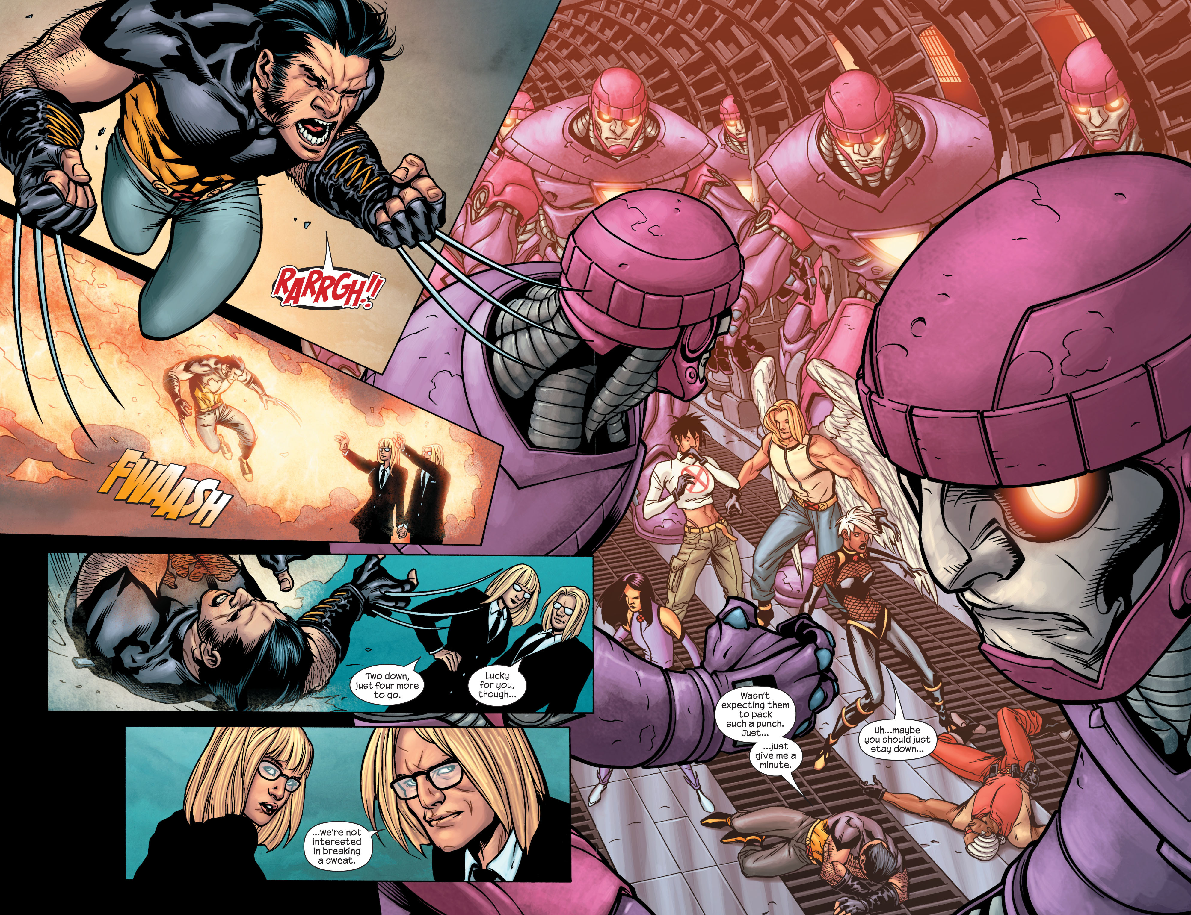 Read online Ultimate X-Men comic -  Issue #86 - 4