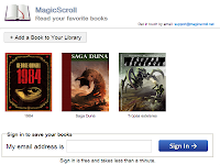 MagicScroll eBook Reader