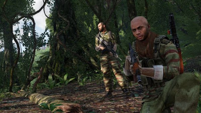 تجربة العبة الحرب أنواع العمليات القتالية والعمل الجماعي Arma 3