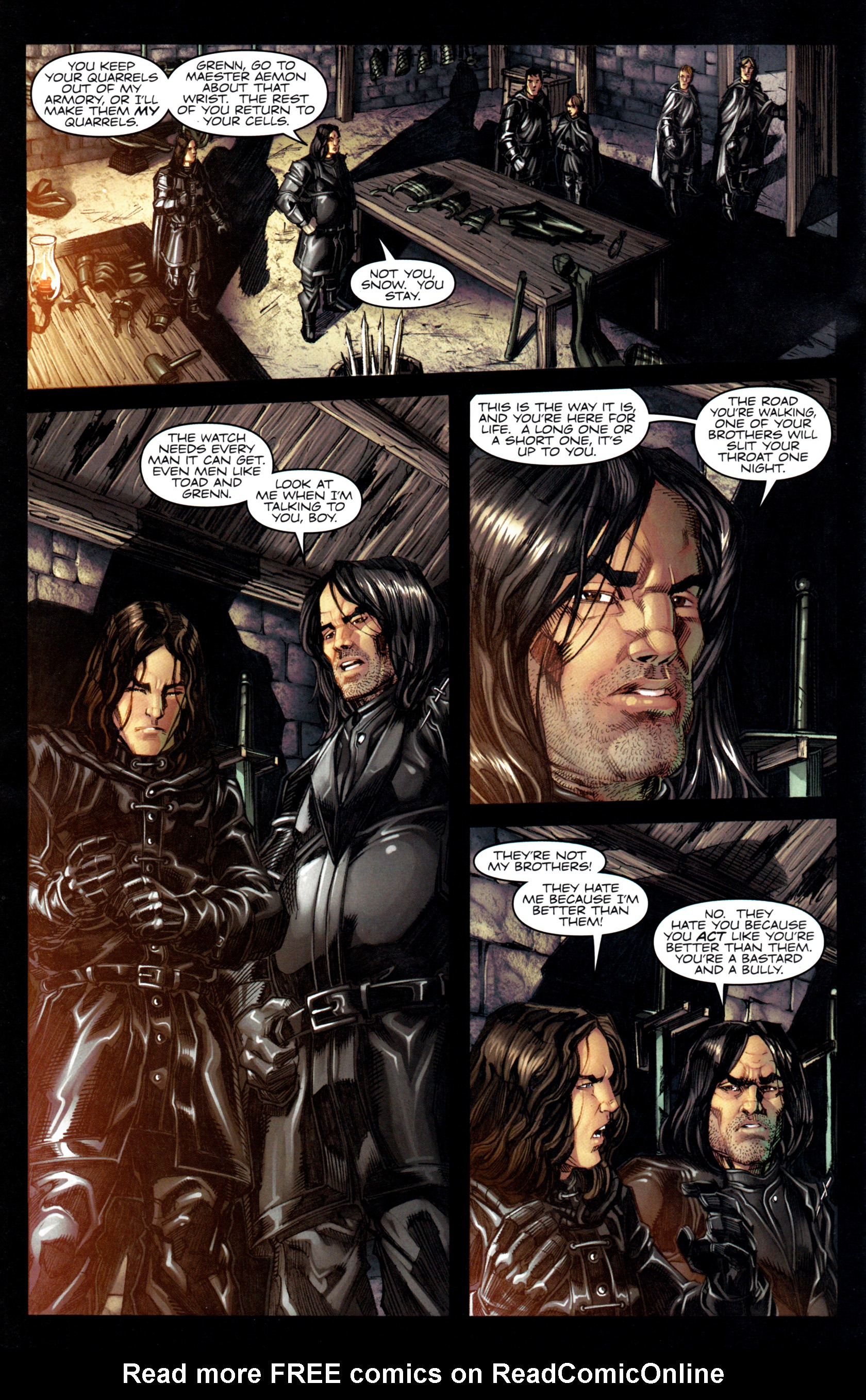 Read online A Game Of Thrones comic -  Issue #6 - 6