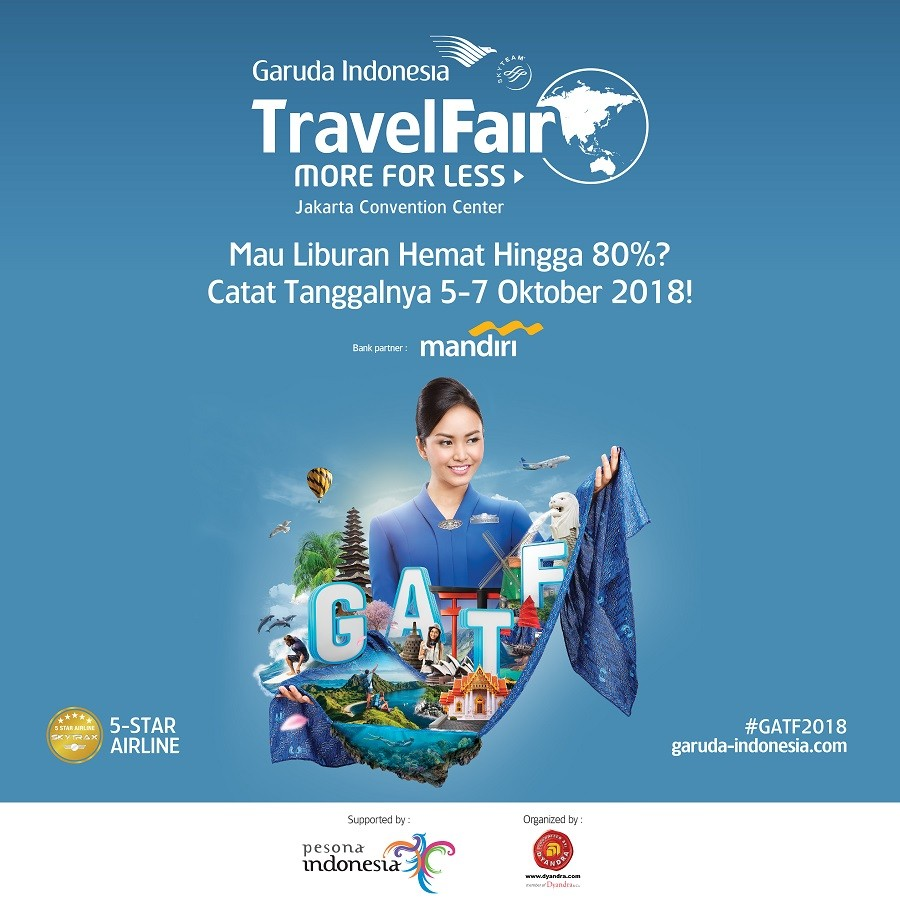 Garuda Travel Fair 2018