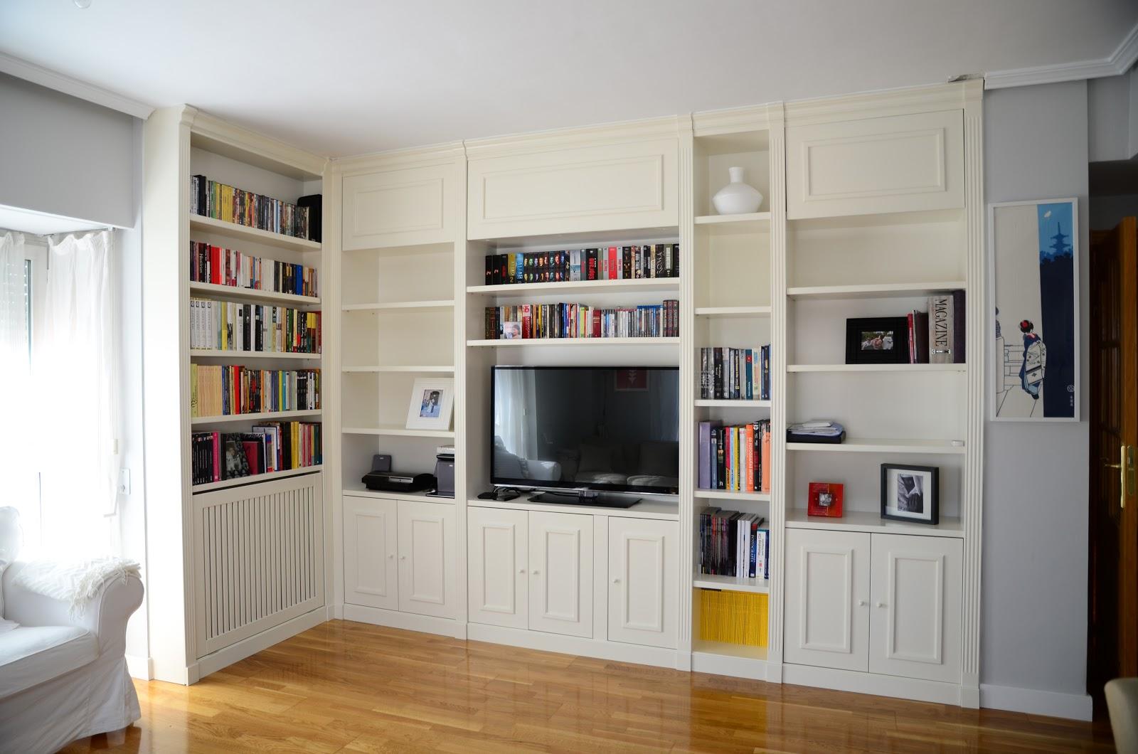 Librerias a medida madrid muebles librerias lacadas de for Muebles calidad