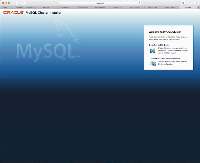 Mikael Ronstrom: MySQL Cluster up and running in less than 4 minutes