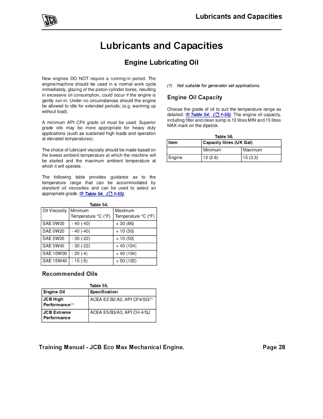 ALLKnowledgeFun: JCB BASIC ENGINE TRAINING MANUAL 1