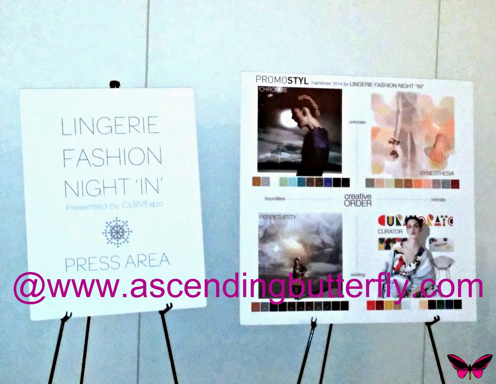 Lingerie Fashion Night 'IN' PROMOSTYL Press Preview