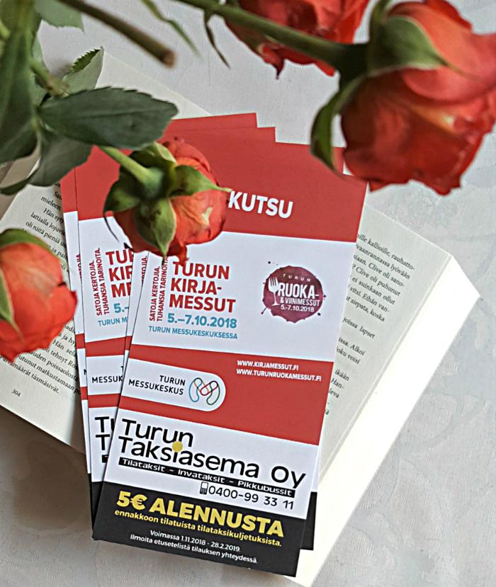 Turun Kirjamessut ja Turun Ruoka- ja Viinimessut - messulippuarvonta
