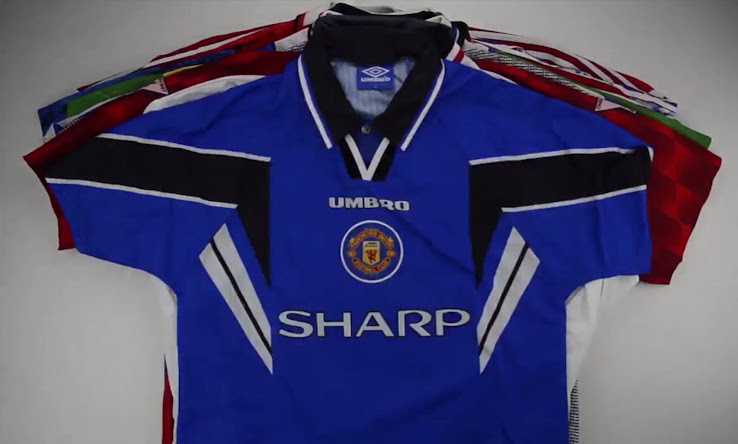 Here Are All Manchester United 1990s Kits Footy Headlines