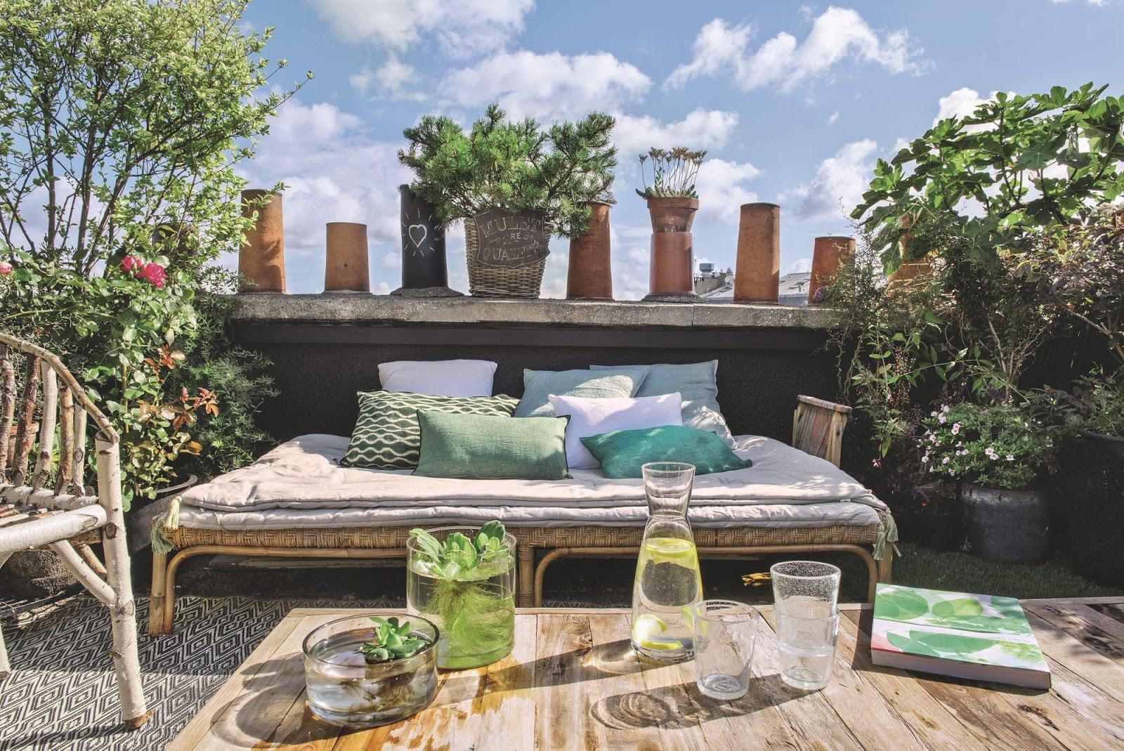 Apartamento en par s con jard n urbano en el tejado c for El jardin urbano