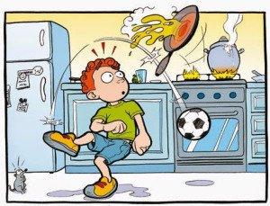Prevencion de riesgos en casa agosto 2016 for Cocinar para 9 personas