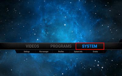 اضافة Awesome Streams الى برنامج Kodi