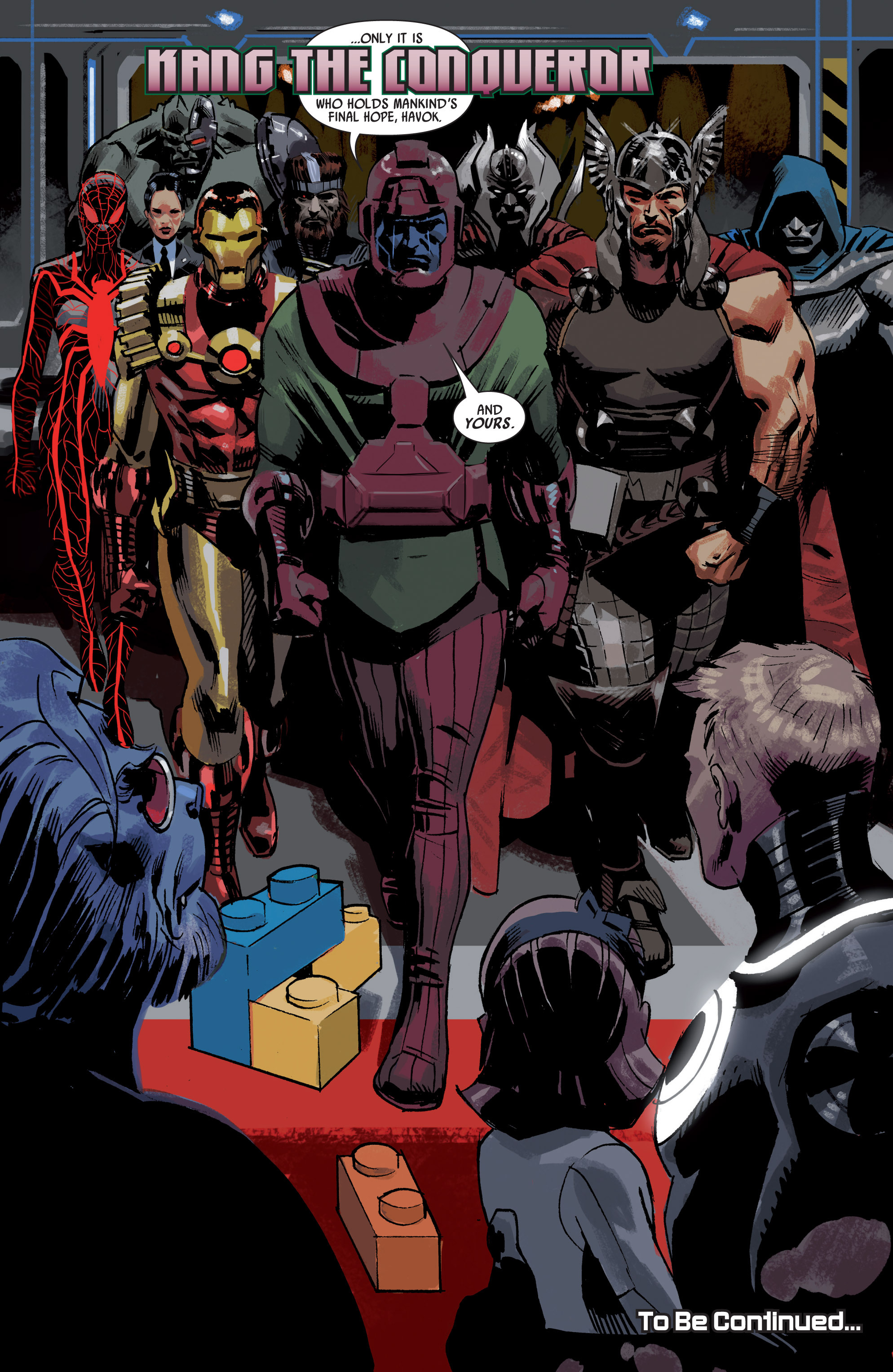 Read online Uncanny Avengers (2012) comic -  Issue #18 - 19