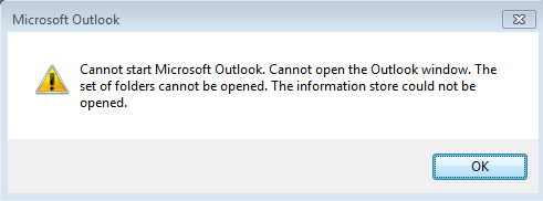 Outlook 2016, 2013, 2010, 2007 Stopped Working on Startup