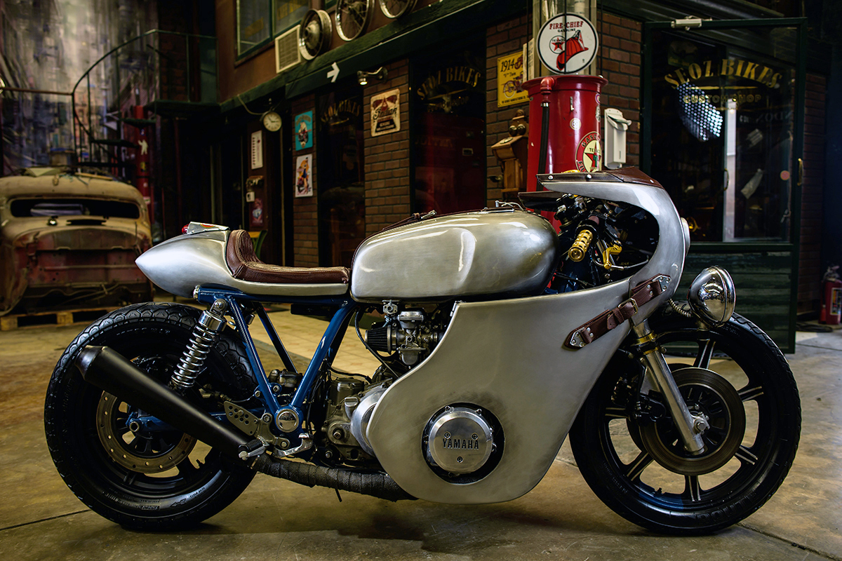 Eleven - Seoz Bike Yamaha XS1100 | Return of the Cafe Racers