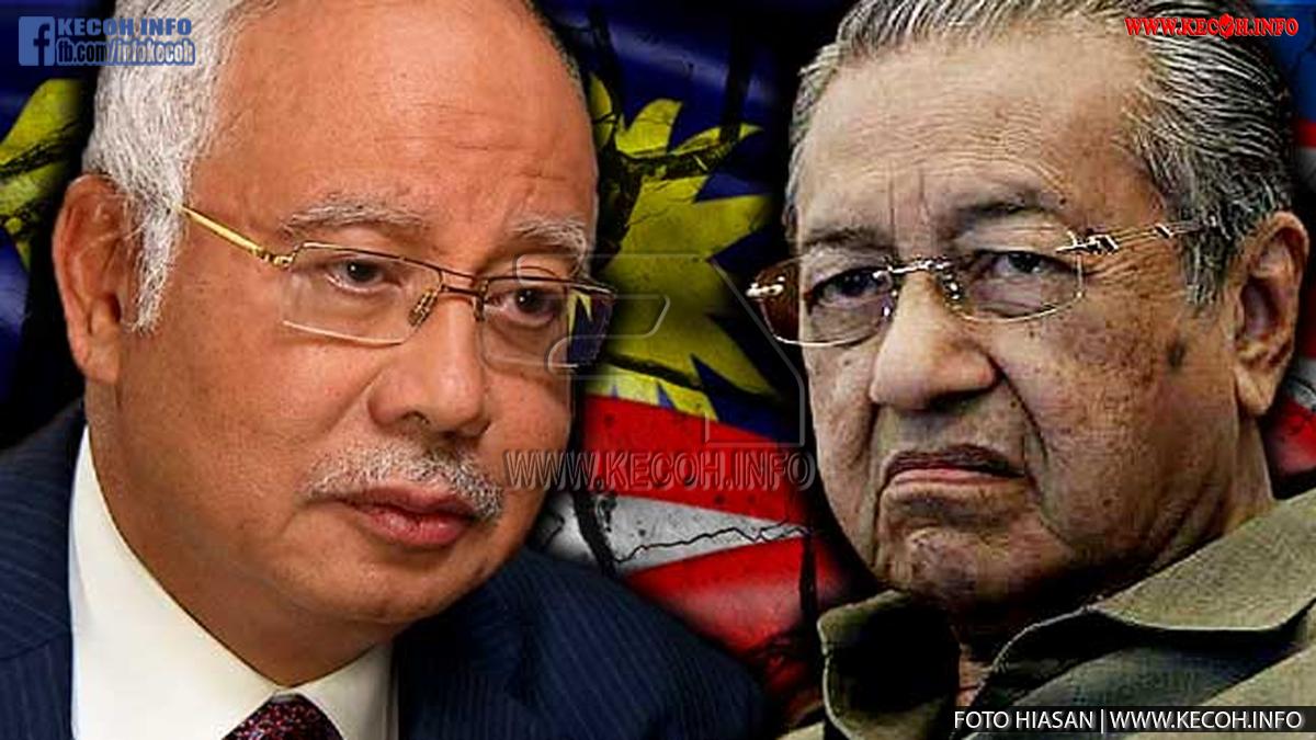 Mahathir Andaikan Najib Masuk Neraka Kerana Tidak Dapat Hulur Duit Kat Penjaga Pintu Syurga