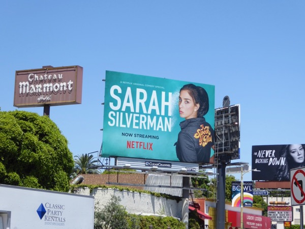 Sarah Silverman Speck of Dust billboard