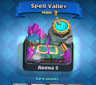 Clash Royale Kini Arena 5