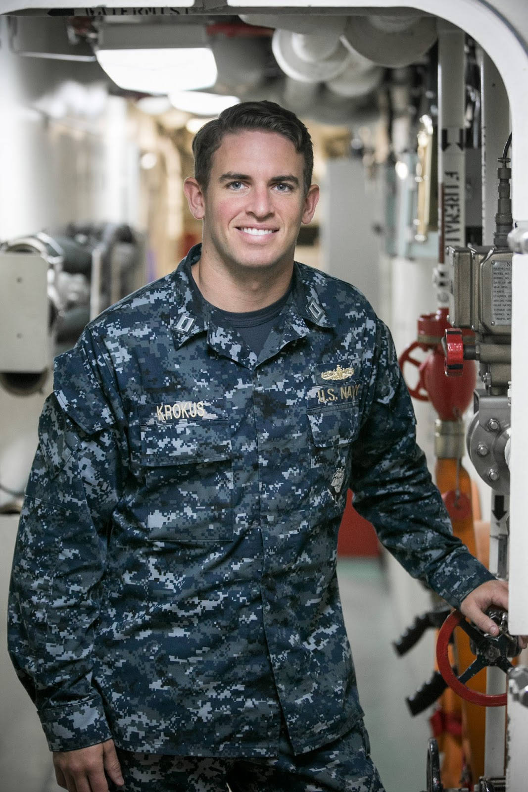 Lt. Christopher Krokus is a surface warfare officer serving with LCS Crew  213 based in San Diego.