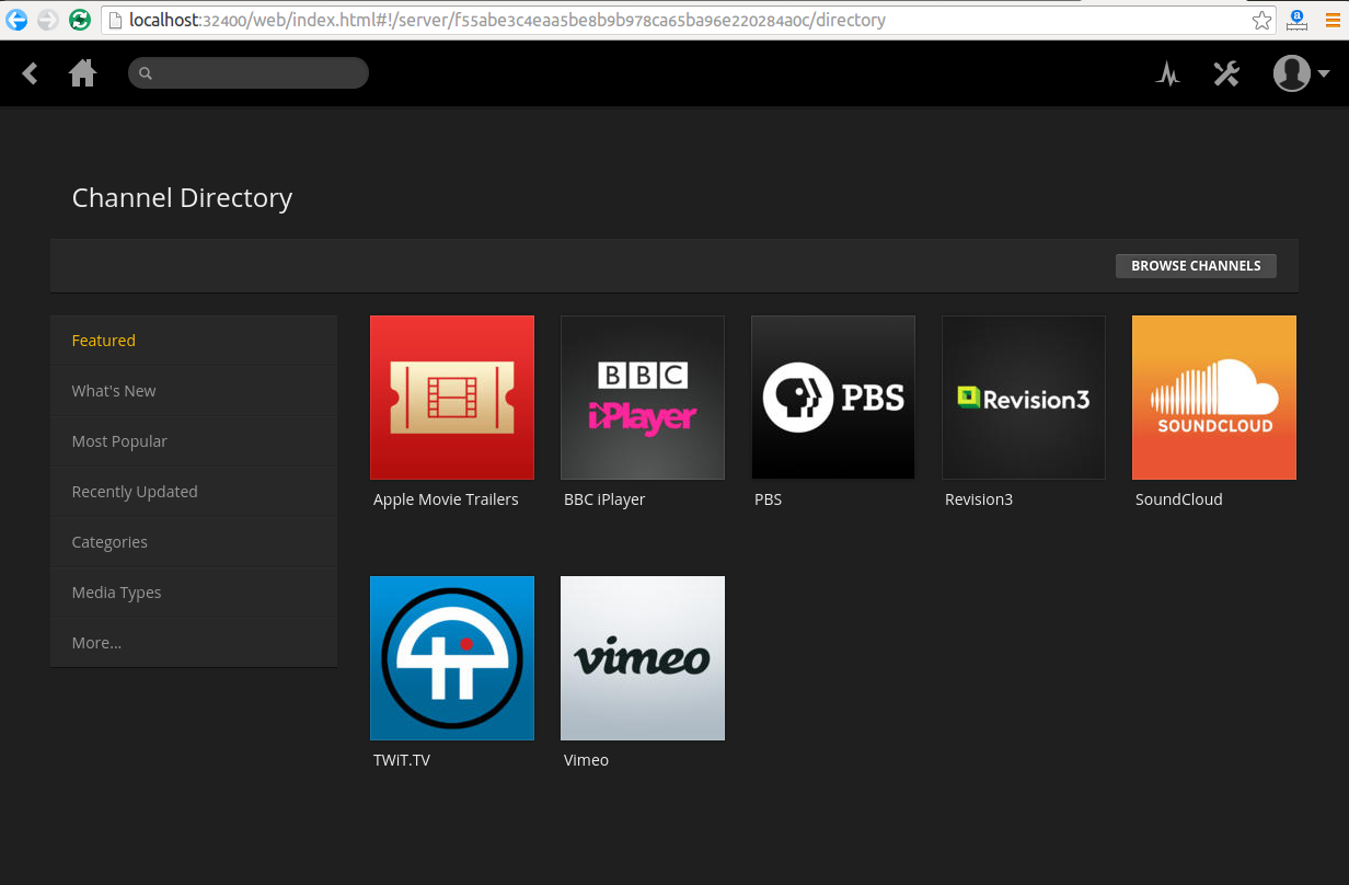 Plex Media Server 0 9 15 2 is Out, Available for Ubuntu