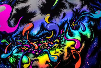 Primus Cincinnati Taft Theatre Poster rainbow foil variant details