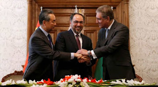China, Pak and Afghan sign MoU to cooperate on counter-terrorism