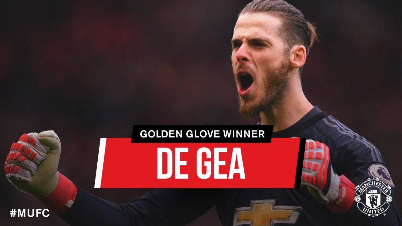 David De Gea Wins First-ever Golden Glove