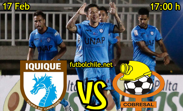 Ver stream hd youtube facebook movil android ios iphone table ipad windows mac linux resultado en vivo, online: Deportes Iquique vs Cobresal