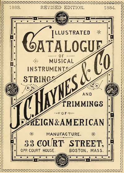 J. C. Haynes Company - 1883