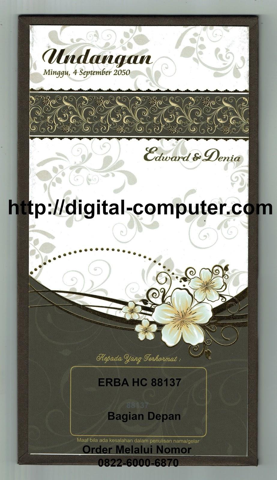 undangan hardcover HC-88137