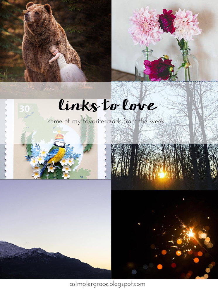 My favorite reads from the week.  #linkstolove #fridayfavorites - Links to Love | 79 - A Simpler Grace