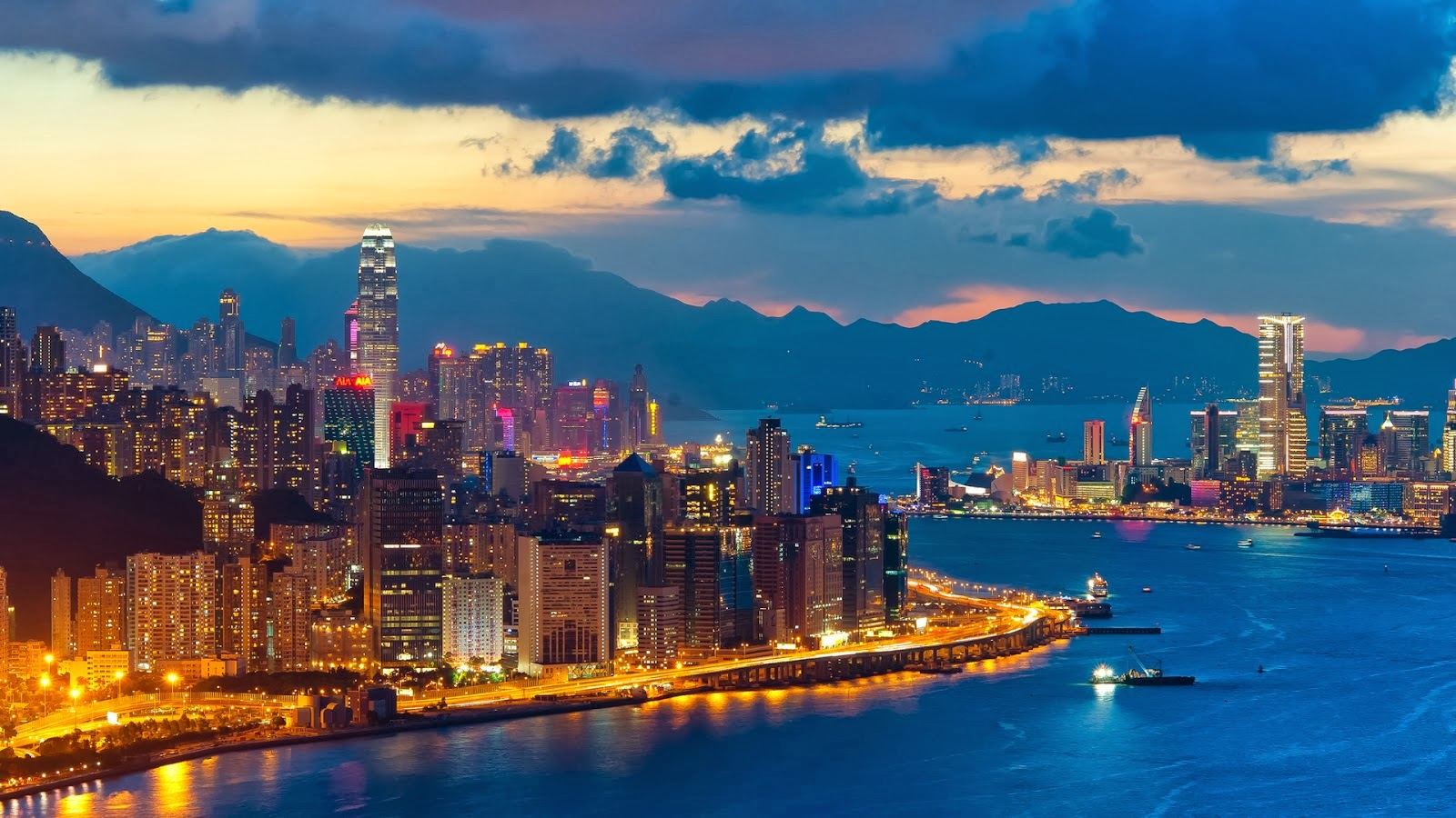 HD WALLPAPERS: Download Hong Kong City HD Wallpapers 1080p