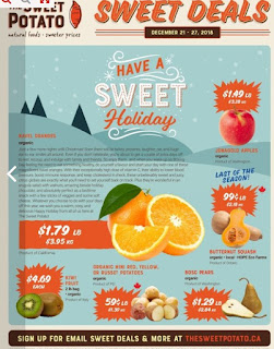 The Sweet Potato Flyer Sweet Deals December 21 - 27, 2018