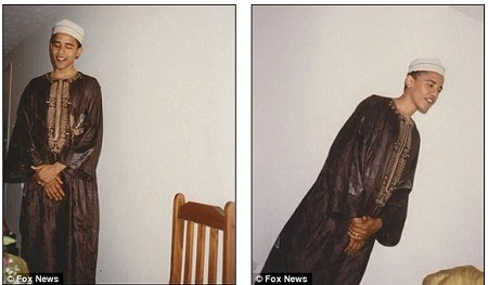 Wow! See Never-Seen-Before Photos of Young Barack Obama in Traditional African Outfits