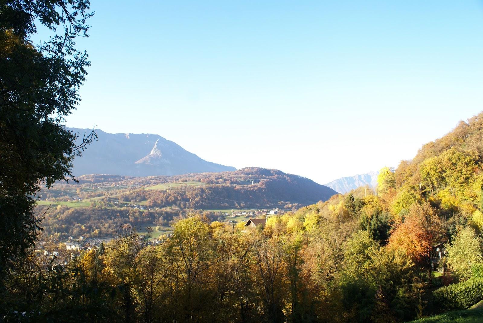 automne savoie nature vue pallud