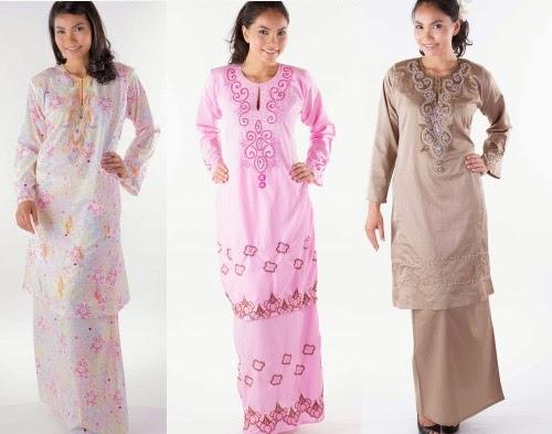 Foto Model Baju Kebaya Tradisional Melayu