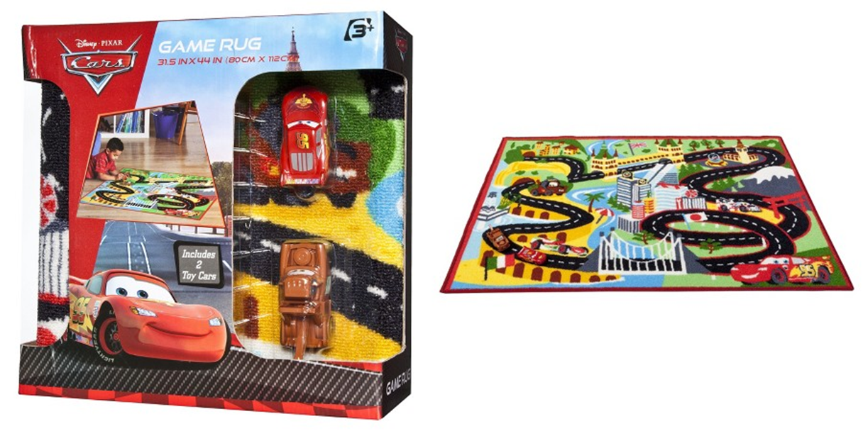 Score This Disney Cars 2 Rug For 11 99 Today Only Over At Target Accent Measures 44 L X 31 5 W And Is Made Of 100 Nylon Durable