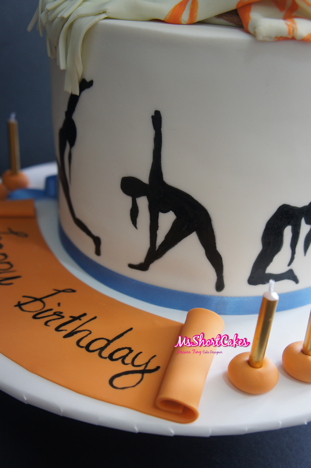 Yoga Birthday Cake Ideas