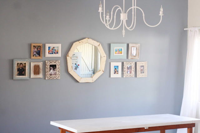 Just Four More Minutes: DIY Wooden Geometric Mirror
