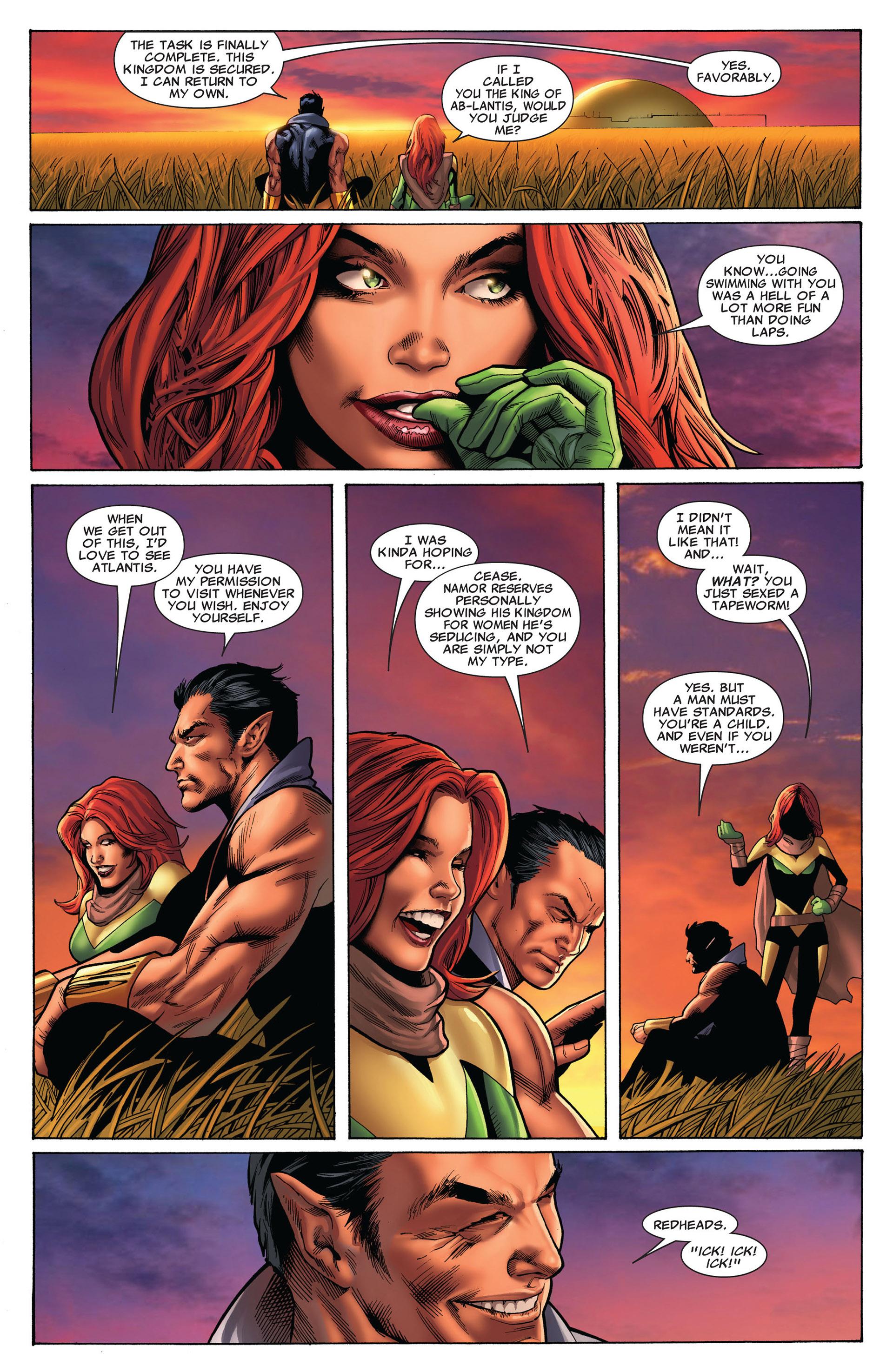 Read online Uncanny X-Men (2012) comic -  Issue #8 - 18