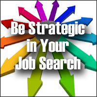 be strategic in your job search, improving your job search, determining what you want to do for a living,