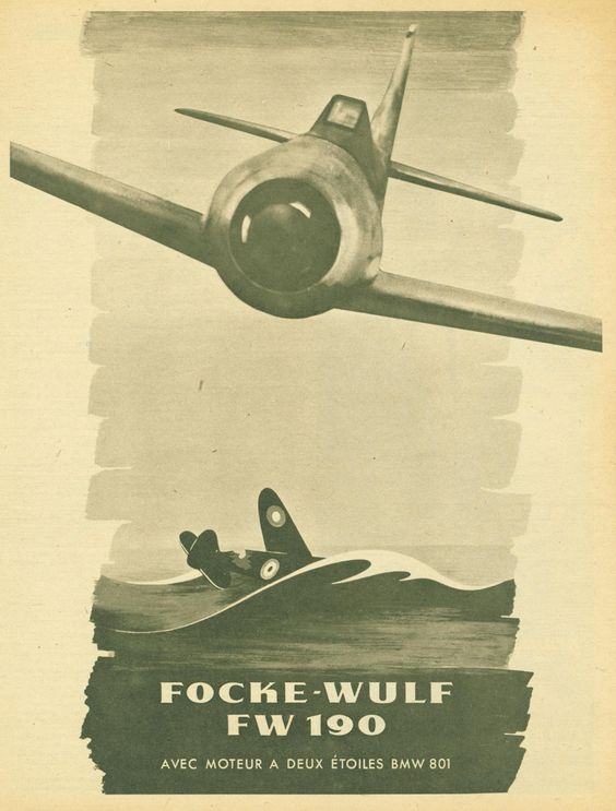 Focke-Wulf 190 Fascist airplane ads worldwartwo.filminspector.com