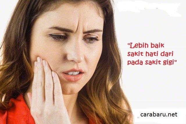 Cara Mudah dan Cepat Mengobati Sakit Gigi Secara Alami | carabaru.net