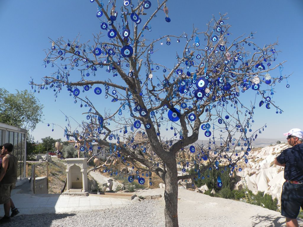 Turquia - Árvore de Olho Turco na Capadócia