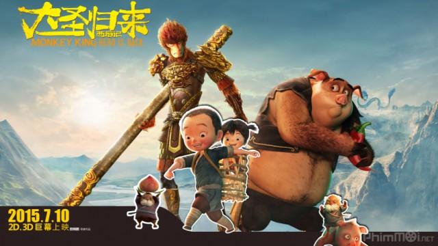 Phim Đại Thánh Trở Về VietSub + TM TS | Monkey King: Hero Is Back 2015